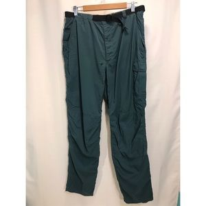 Vintage The North Face Teal Hiking Outdoor Pants